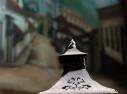 Lanterna decorativa da recepção